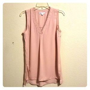 BoGo!👋 (nwt) DR2 Pale Pink Blouse